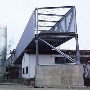 Stahlbau R.Schramm GmbH Fördertechnik Automatisierung Galerie Brücke