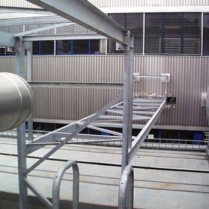 Stahlbau R.Schramm GmbH Fördertechnik Automatisierung Galerie Medienstahlbau