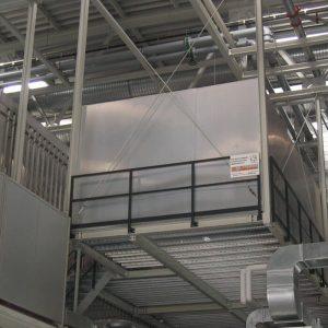 Stahlbau R.Schramm GmbH Fördertechnik Automatisierung Galerie Stahlbühne