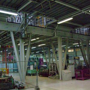Stahlbau R.Schramm GmbH Fördertechnik Automatisierung Galerie Stahlkonstruktion