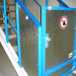 Stahlbau R.Schramm GmbH Fördertechnik Automatisierung Galerie Stahltüre