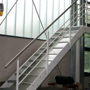 Stahlbau R.Schramm Gmbh Fördertechnik Automatisierung Galerie Treppe